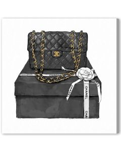 Boxed Beauty Canvas Fashion Wall Art in Shadow Box Frame - Available in 5 Sizes