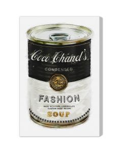 """""""Fashion Soup"""" Canvas Wall Art - Available in 5 Sizes"""
