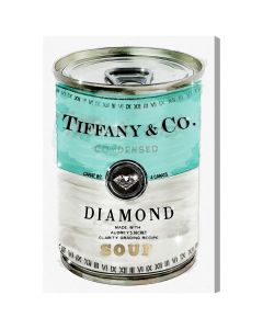 Priceless Can Tiffany & Co. Fashion Canvas Wall Art - Available in 5 Sizes