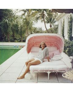 """Slim Aarons """"Palm Beach Pastels"""" Print by Getty Images Gallery - Variety of Sizes Available"""