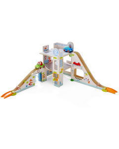 Parking Garage with 2 Vehicles Play Track Set