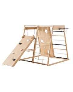 Play At Home Indoor Beech Wood Activity Gym - ON BACKORDER UNTIL SEPTEMBER 2021