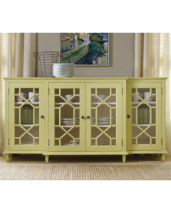 Somerset Bay Portland Sideboard with Glass Doors - Available in a Variety of Finishes