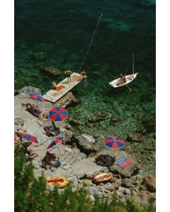 """Slim Aarons """"Porto Ercole"""" Print by Getty Images Gallery - Variety of Sizes Available"""
