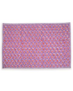 Purple and Red Ambroeus Quilted Placemat