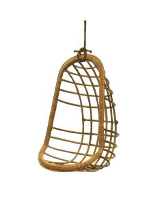 Rattan Hanging Chair in Caramel - ON BACKORDER UNTIL AUGUST 2021