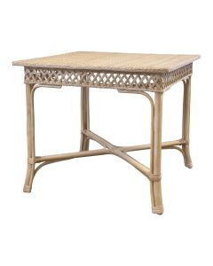 Rattan Trellis Game Table, Available in a Variety of Colors - PREORDER JANUARY 2022