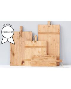 Handcrafted Rectangle Pine Charcuterie Board
