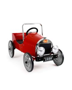 Red Classic Ride-On Pedal Car for Kids