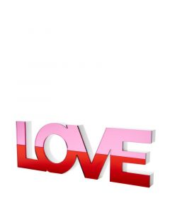Red Mirrored Love Stand Alone Accessory