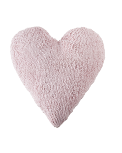 Washable Pink Heart Children's Pillow