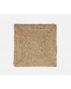 Set of 4 Square Natural Seagrass Placemats