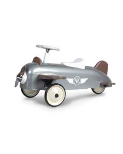 Speedster Ride On Plane for Kids in Silver