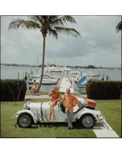 """Slim Aarons """"All Mine"""" Print by Getty Images Gallery - Variety of Sizes Available"""