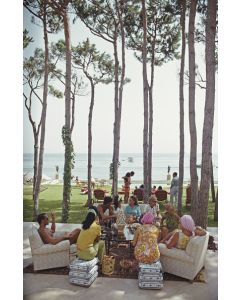 """Slim Aarons """"Marbella House Party"""" Print by Getty Images Gallery - Variety of Sizes Available"""