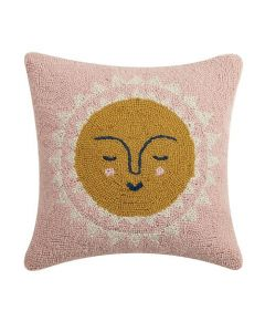 Smiling Sun 16 x 16 Decorative Throw Pillow - ON BACKORDER UNTIL MID-SEPTEMBER 2021