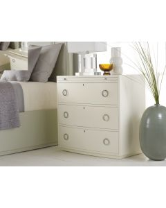 Somerset Bay Transitions Bowfront Bedside Chest - Available in a Variety of Finishes