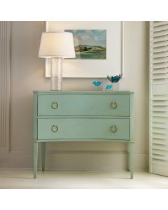 Somerset Bay Two Drawer Concave Side Chest - Available in a Variety of Finishes
