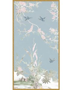 Spring Haven Chinoiserie 1 Framed Wall Art