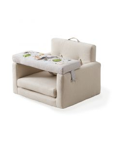 Square Activity Chair with Interactive Toy Tray for Infants - ON BACKORDER UNTIL SEPTEMBER 2021