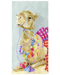 Colorful Camel Canvas Wall Art for Kids