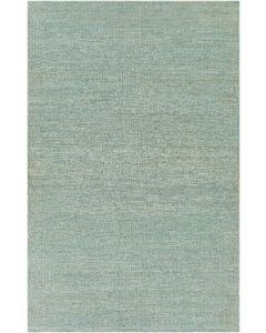 Teal Hand Woven Jute Rug, Available in a Variety of Sizes