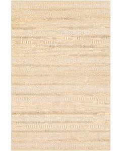 Textured Panel Hand Woven Rug in Natural, Available in a Variety of Sizes