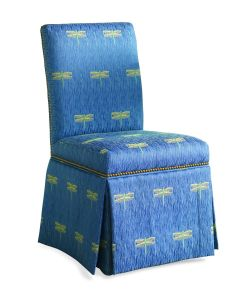 Upholstered Dining Chair with Skirt