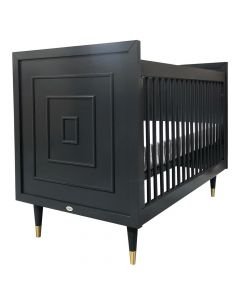 Uptown Modern Luxe Custom Crib - Available in a Variety of Colors