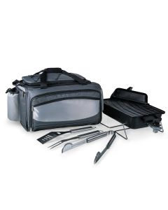 Deluxe Portable Propane Grill Set & Cooler Tote