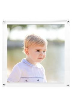 Wall Hanging Clear Acrylic Floater Picture Frame for 12x12 Photo
