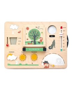 Weather Watch Wooden Learning Toy for Kids
