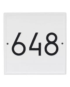 Square Personalized Wall Plaque – Available in a Variety of Colors