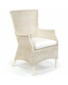 Wicker Coffee House Chair - Available in a Variety Finishes