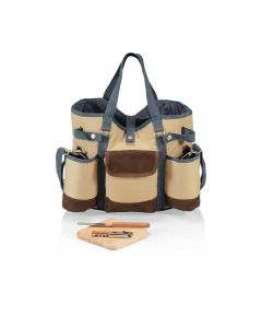 Country Chateau Wine & Cheese Tote Set - Two Designs Available