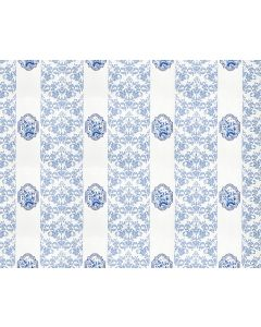 Scalamandre Imperial Wallpaper in White