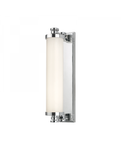 Hudson Valley Lighting Small Sheridan Opal Glass Cylindar Bath and Vanity Light  Available in Three Finishes