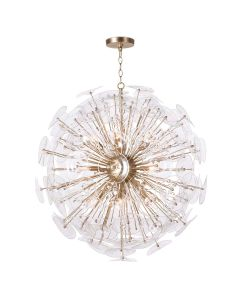 Modern 12 Light Sputnik Style Orb Chandelier - LOW STOCK - CALL TO CONFIRM AVAILABILITY
