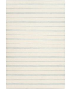 BARGAIN BASEMENT ITEM: 2'x3' Sagaponeck Sky Blue Stripe Rug - IN STOCK IN GREENWICH CT FOR QUICK SHIPPING