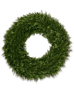 "26"" Enduraleaf Boxwood Wreath"