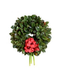 "28"" Magnolia Christmas Wreath"