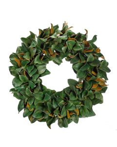 "32"" Magnolia Leaf Holiday Wreath"