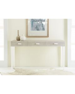 Modern History Shagreen Three Drawer Console Table - CALL TO CONFIRM AVAILABILITY