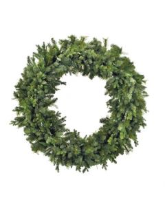 "60"" Classic Green Pine Holiday Wreath"