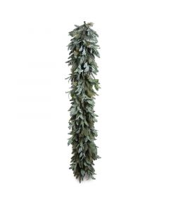 6' Lamb's Ear Fir Holiday Garland