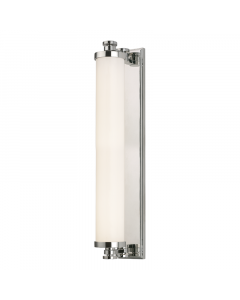 Hudson Valley Lighting Large Sheridan Opal Glass Cylindar Bath and Vanity Light  Available in Three Finishes