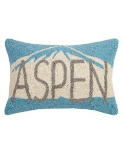"""Aspen"" Ski House Hook Pillow - FINAL STOCK - CALL TO CONFIRM AVAILABILITY"