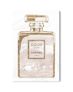 """Coco Water Love Shell"" Chanel-Inspired Fashion Wall Art"