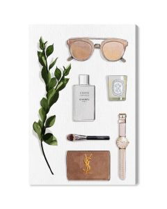 """Nude"" YSL Fashion Essentials Canvas Wall Art - Variety of Sizes Available"