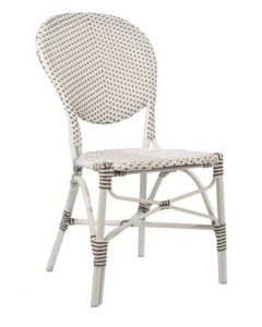 AluRattan™ Bistro Style Side Chair - Available in Two Colors